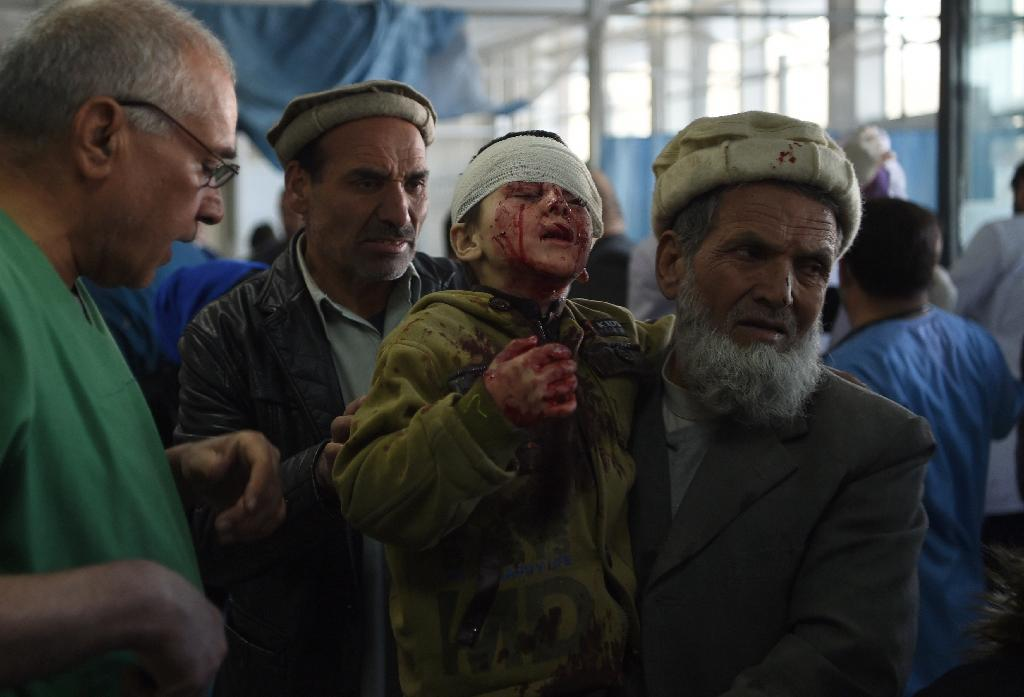 Civilian casualties surged in recent months as militants from the Taliban, as well as Islamic State group, unleashed a wave of bloodshed in urban areas and on security forces (AFP Photo/WAKIL KOHSAR)