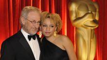 Mikaela Spielberg, daughter of director Steven, is tearful in mug shot for domestic violence arrest