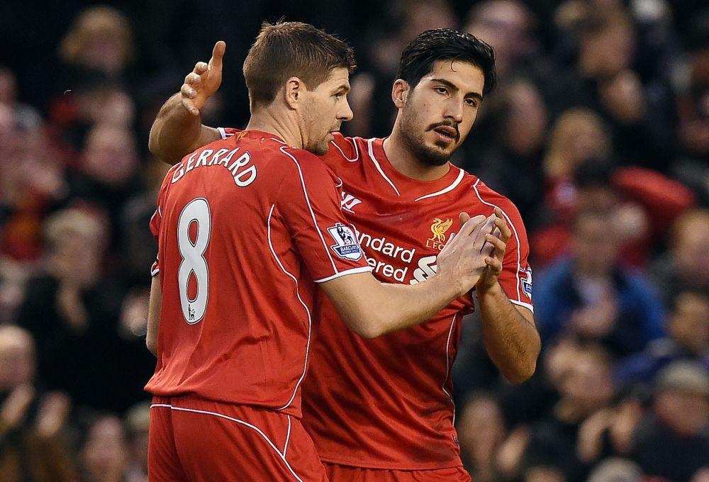 Liverpool: Steven Gerrard huldigt Emre Cans Zaubertor