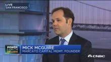 Marcato Capital's Mick McGuire: Too early to say if there...