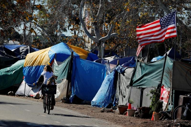 California asks Trump administration to release money to fight homelessness