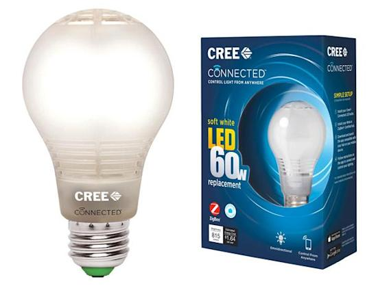 Cree's affordable smart bulb works with Zigbee and Wink home hubs