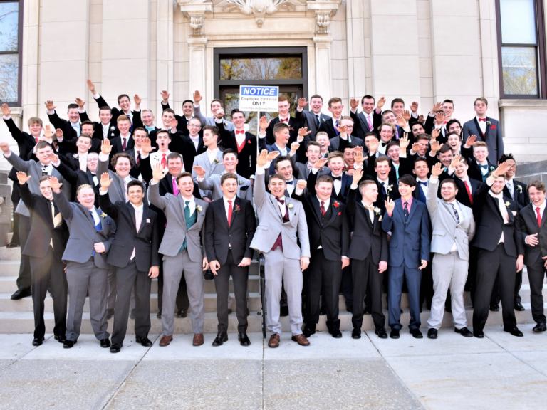 Wisconsin schoolboys in Nazi salute photo 'shouted white power after Trump elected', former student claims