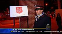 760's Mike Slater on News 8: Salvation Army