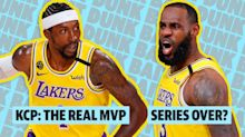 Lebron and AD dominate, but KCP was the MVP | Dunk Bait
