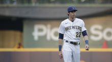 Brewers OF Christian Yelich tests positive for COVID-19, placed on IL