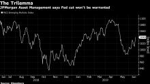 JPMorgan Warns `Trilemma' Will Limit Stock Gains as Fed on Hold