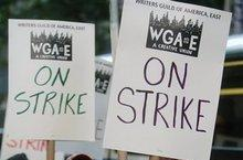 The writers strike is in full effect
