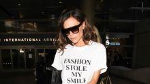 Three ways to wear an ordinary white T-shirt, according to Victoria Beckham