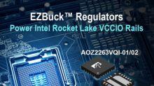 Alpha and Omega Semiconductor Announces Application-Specific EZBuck™ Regulator to Power Intel Rocket Lake Platform
