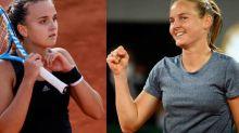 Roland-Garros - Fiona Ferro et Clara Burel, coup de jeune sur le tennis féminin français à Roland-Garros