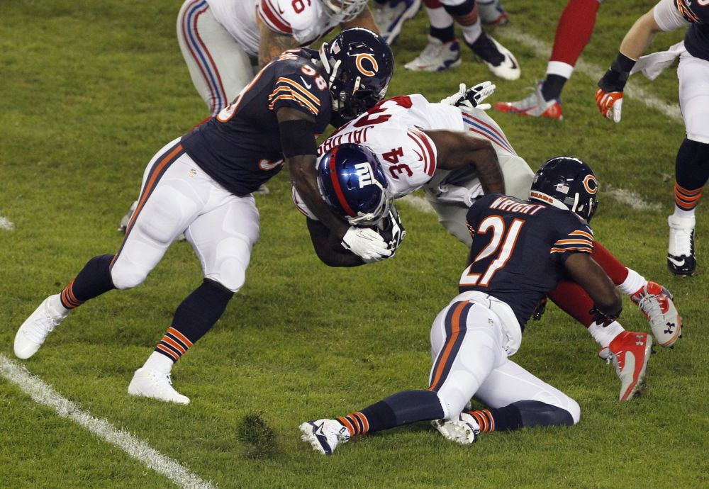 Bears' Williams to miss rest of season