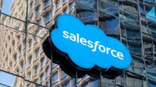 Salesforce Falls as Sales Growth Rate Fails to Satisfy Investors