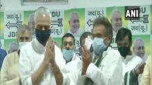 Bihar: Tej Pratap's father-in-law Chandrika Rai, two other MLAs join JD(U)