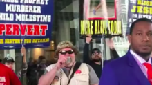Anti-Muslim Christians Rally Outside Islamic Conference in DC