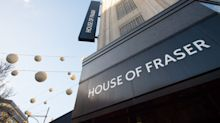 Four House of Fraser stores to be saved from closure