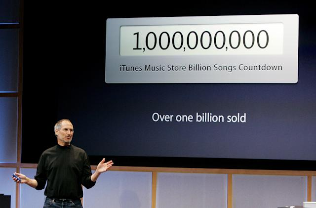 When Apple in 2000 quickly shifted its focus to music
