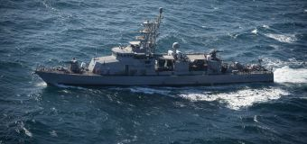 U.S. ship fires 30 warning shots in latest run-in with Iran