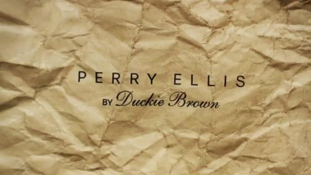 Duckie Brown for Perry Ellis: Process