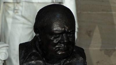 Churchill Honored With Statue in Capitol