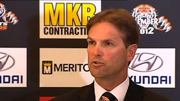 Tigers appoint Potter as coach