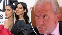 Veronicas blast Celebrity Apprentice boss Lord Sugar: 'Not happy'