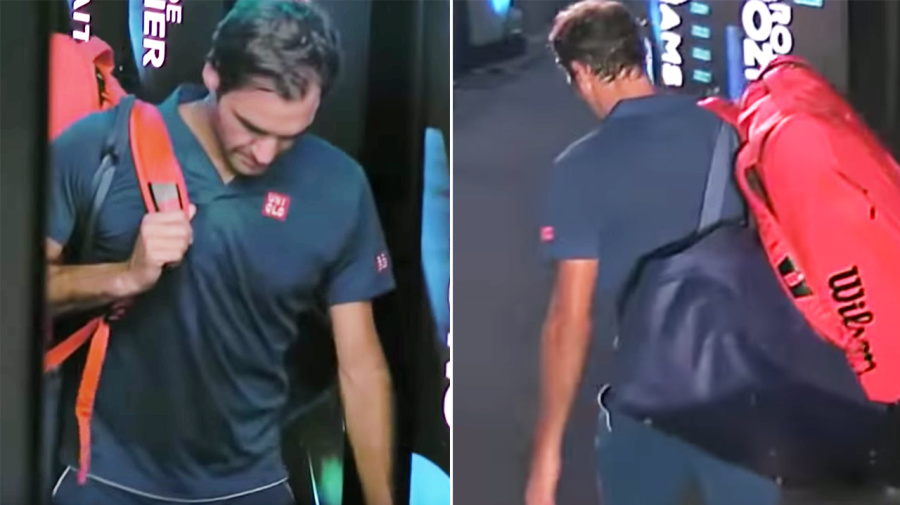 New video reveals Federer's heartbreaking reaction to loss