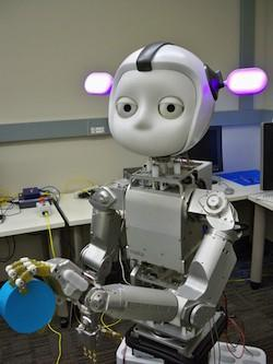 Simon the robot wins award, is super cute, seems pretty boring to hang out with