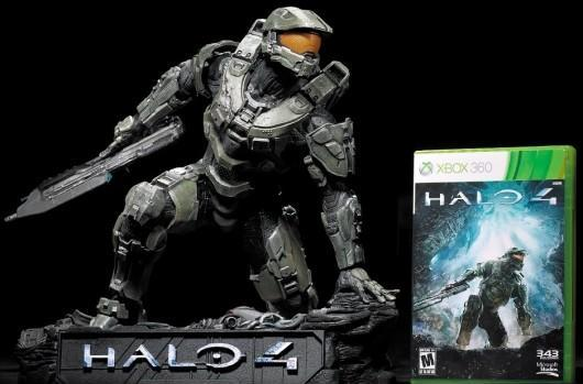 Halo 4 Master Chief statue coming to protect your desk from tiny aliens