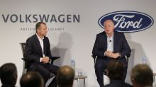 Ford & Volkswagen partner for self-driving push