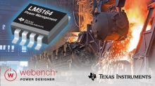 Robust 100-V, 1-A synchronous buck converter enables designers to shrink board space, improve efficiency and simplify power-supply design