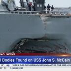 US Pacific commander: Remains of sailors found on USS John McCain