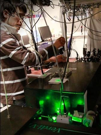 Researchers use lasers to supercool semiconductor membranes, blow your mind