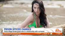 Prison officer charged over Valentine's romance with inmate