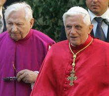Retired pope's elder brother, Georg Ratzinger, dies at 96