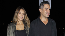 How Jessica Alba Does Date Night Dressing While Pregnant