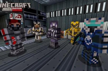 Mass Effect texture pack lands on Minecraft Xbox 360