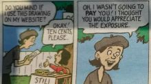 This comic strip nailed exactly what it's like to be a freelance creative in just four panels