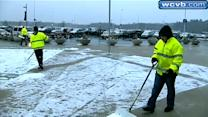Storm cleanup continues at Gillette