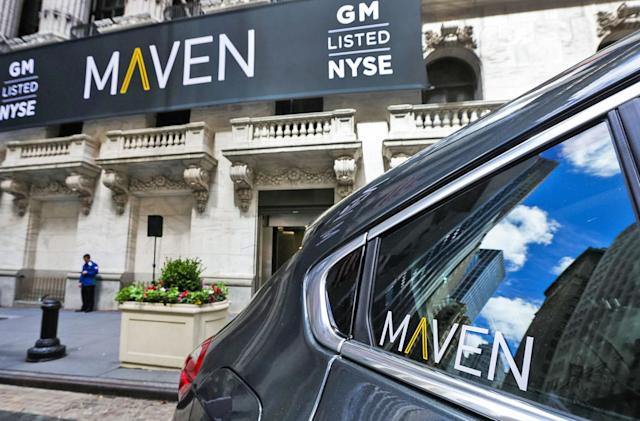 GM dramatically scales back its Maven car-sharing service