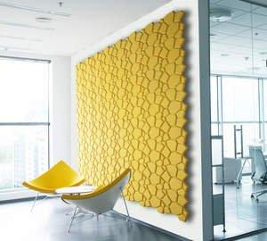 sustainable materials llc introduces organic blocks a cork wall design product to the us - Interior Wall Design Materials