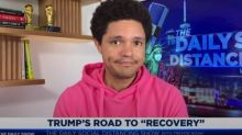 Trevor Noah on mask-less rallies: 'Trump is now biohazard-curious'