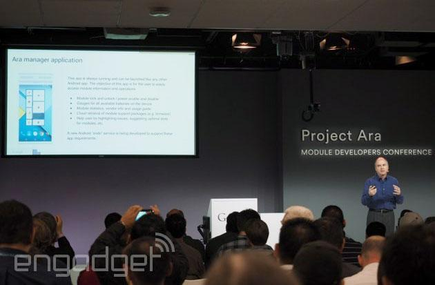 Google details Ara Manager app for wrangling all your modules
