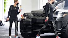 Hailey Bieber just stepped out wearing these $1,716 sneakers