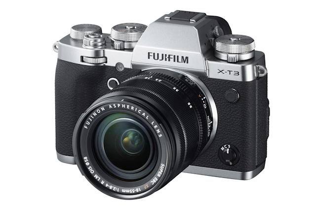 Fujifilm's X-T3 arrives with faster autofocus and 4K 60 fps video