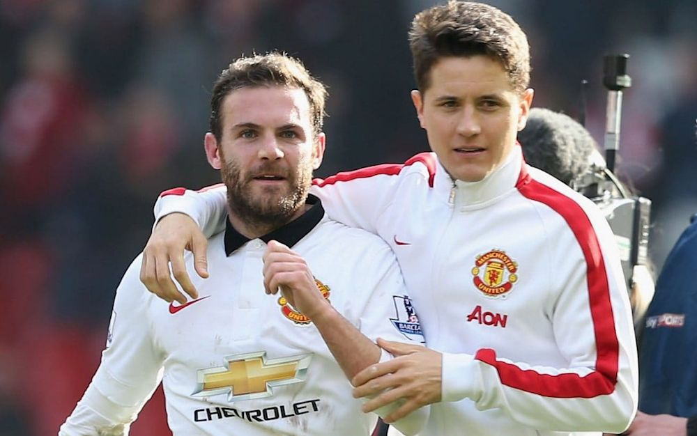 Migrant workers: Juan Mata and Ander Herrera are two players who would not qualify for automatic work permits post-Brexit - Getty Images