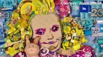 Artist Creates Honey Boo Boo Portrait Completely Out Of Trash