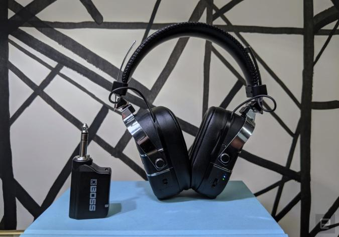 Boss' guitar amp headphones are clever but pricey