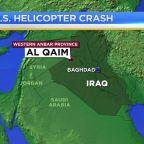 Pentagon: No survivors in American helicopter crash in Iraq