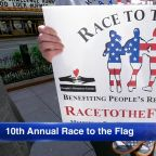 10th annual 'Race to the Flag' honoring military veterans will be held Memorial Day weekend